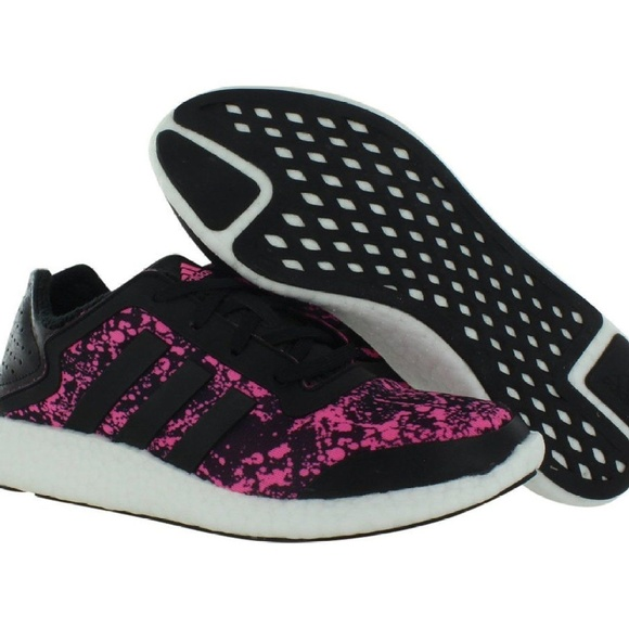 e6adb296f2fb1 ADIDAS PURE-BOOST Q4 Running Shoes Sneaker
